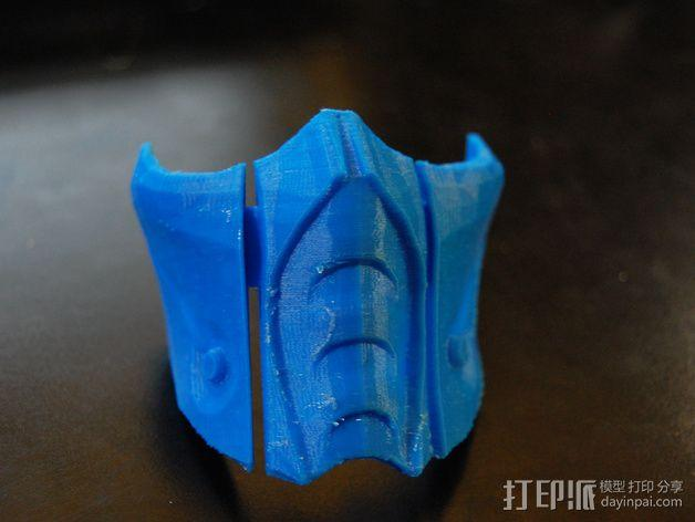 格斗面具 3D模型  图4