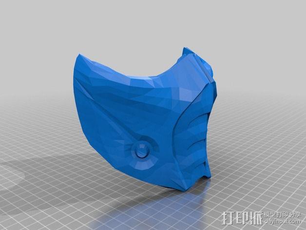 格斗面具 3D模型  图8