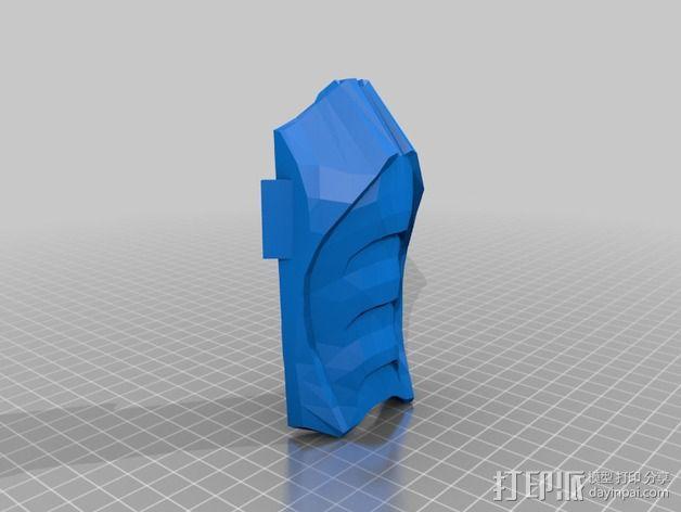 格斗面具 3D模型  图9