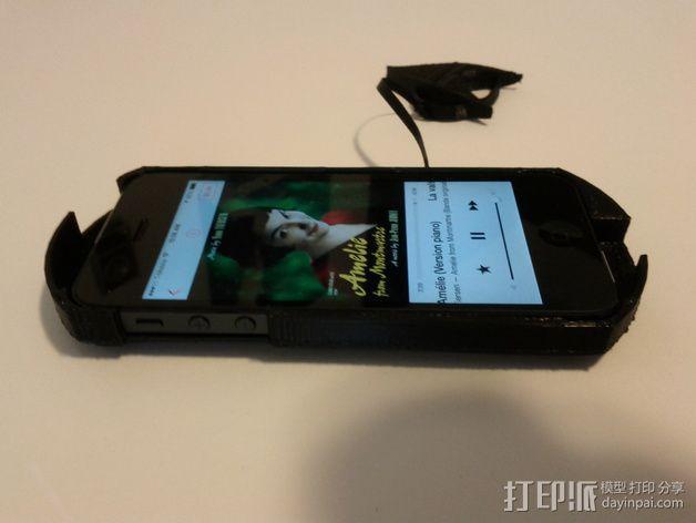 Acoustic Boost苹果5手机壳 3D模型  图3