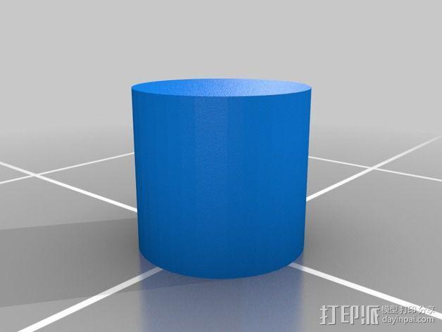 齿轮iPhone5手机外壳 3D模型  图5