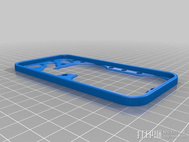 齿轮iPhone5手机外壳 3D模型  图8