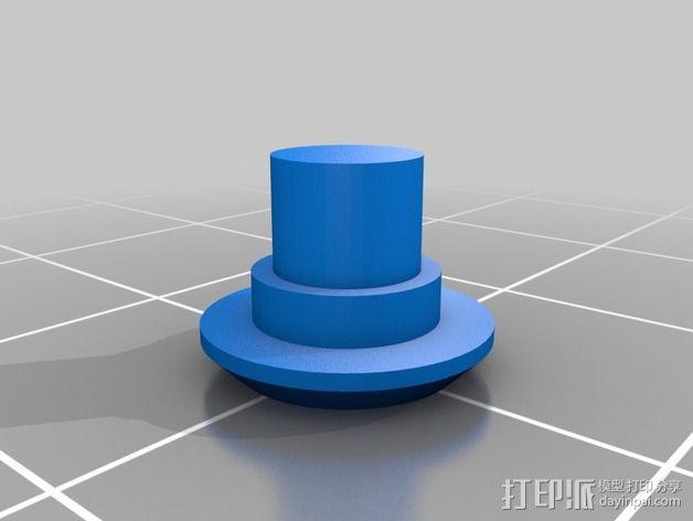 齿轮iPhone5手机外壳 3D模型  图7