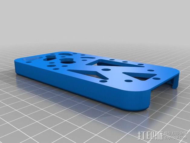 齿轮iPhone5手机外壳 3D模型  图10