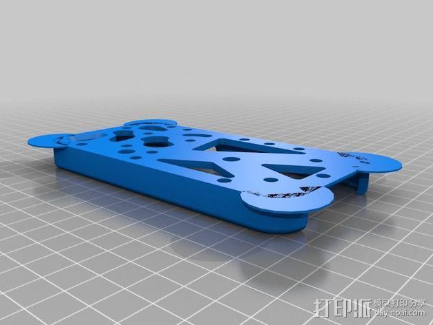 齿轮iPhone5手机外壳 3D模型  图9
