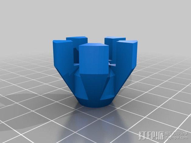 齿轮iPhone5手机外壳 3D模型  图12
