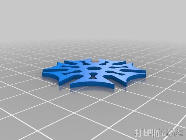 齿轮iPhone5手机外壳 3D模型  图16