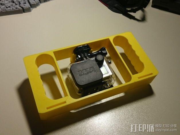GoPro相机潜水外壳 3D模型  图3