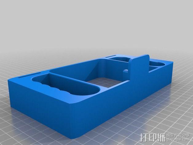 GoPro相机潜水外壳 3D模型  图2