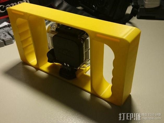 GoPro相机潜水外壳 3D模型  图4