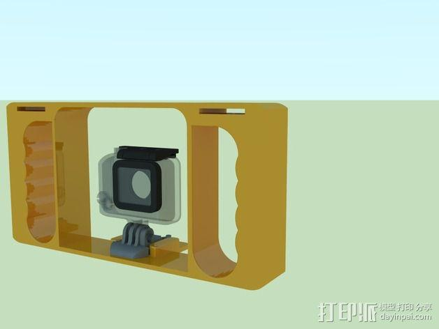 GoPro相机潜水外壳 3D模型  图8