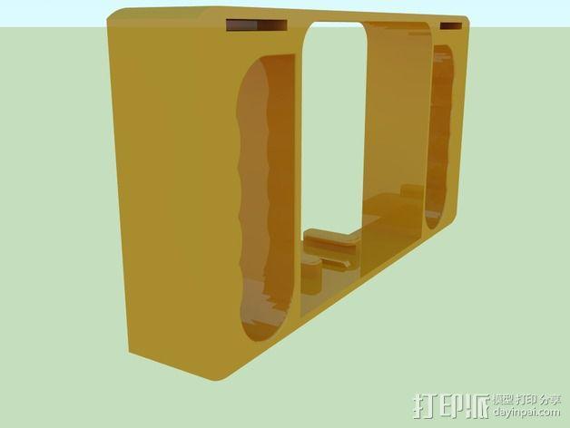 GoPro相机潜水外壳 3D模型  图6