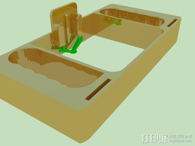 GoPro相机潜水外壳 3D模型  图7