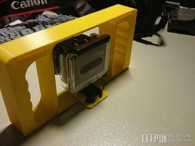 GoPro相机潜水外壳 3D模型  图5