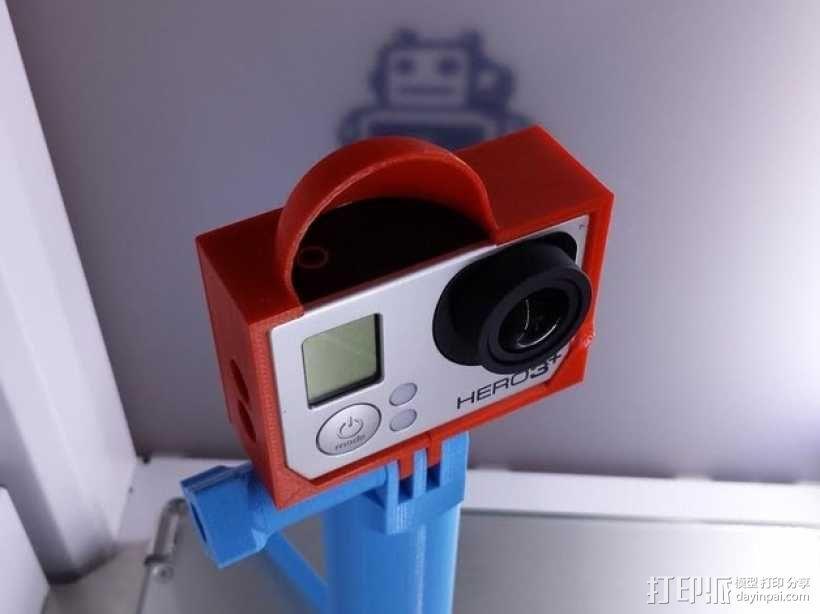 Gopro 3相机保护壳 3D模型  图1