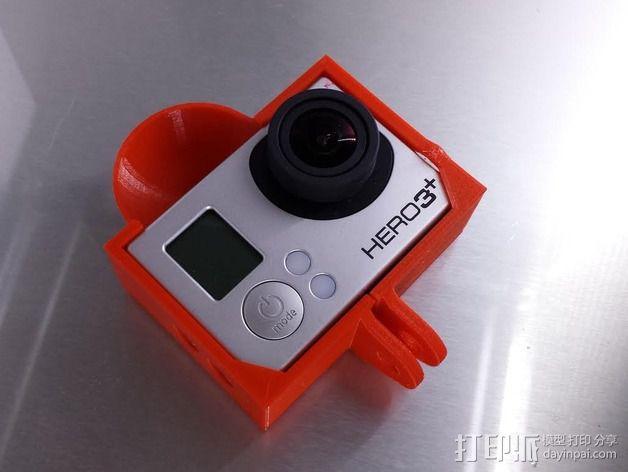 Gopro 3相机保护壳 3D模型  图3