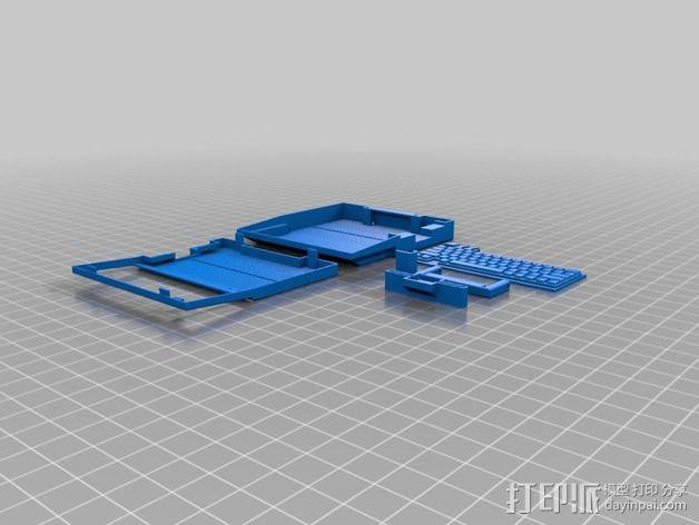 苹果可携式电脑模型 3D模型  图2