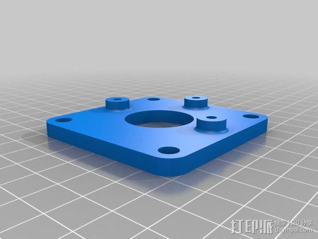 树莓派工作台 保护外壳 3D模型  图2