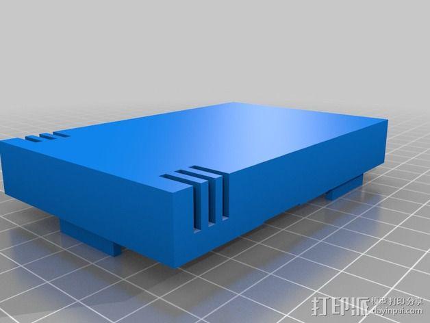 树莓派工作台 保护外壳 3D模型  图4