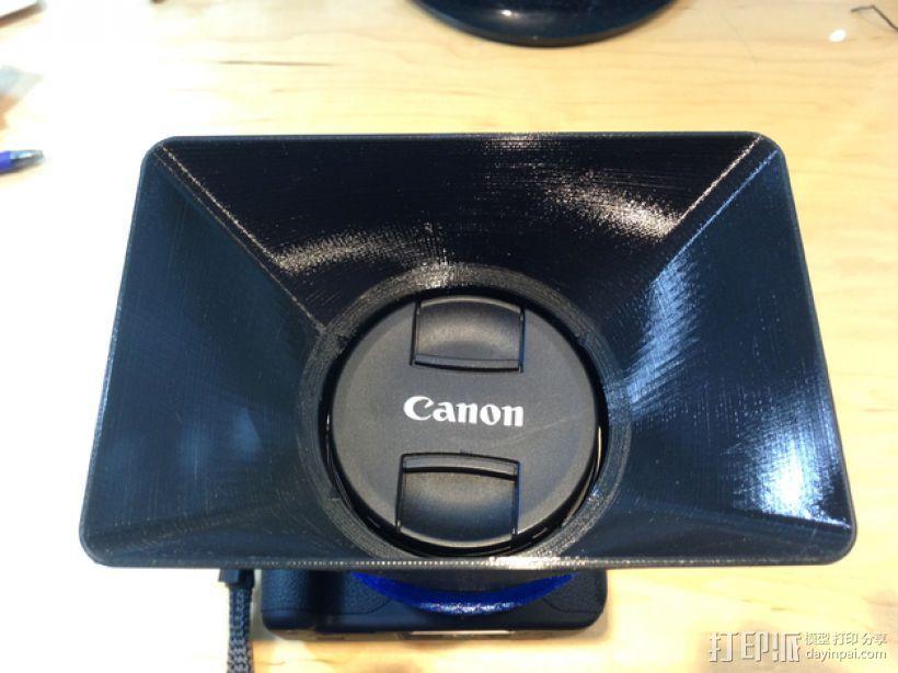相机镜头遮光罩 3D模型  图6