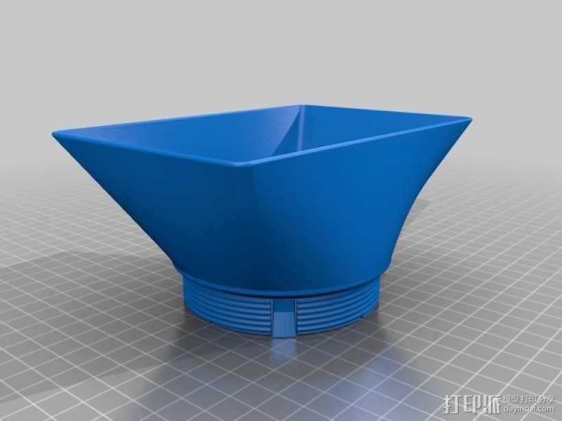 相机镜头遮光罩 3D模型  图8