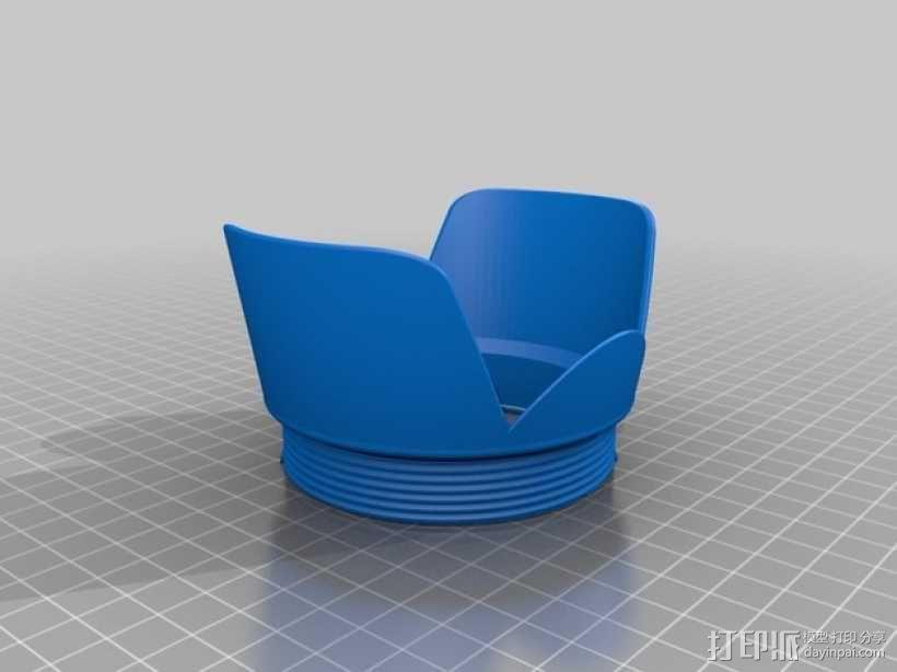 相机镜头遮光罩 3D模型  图9