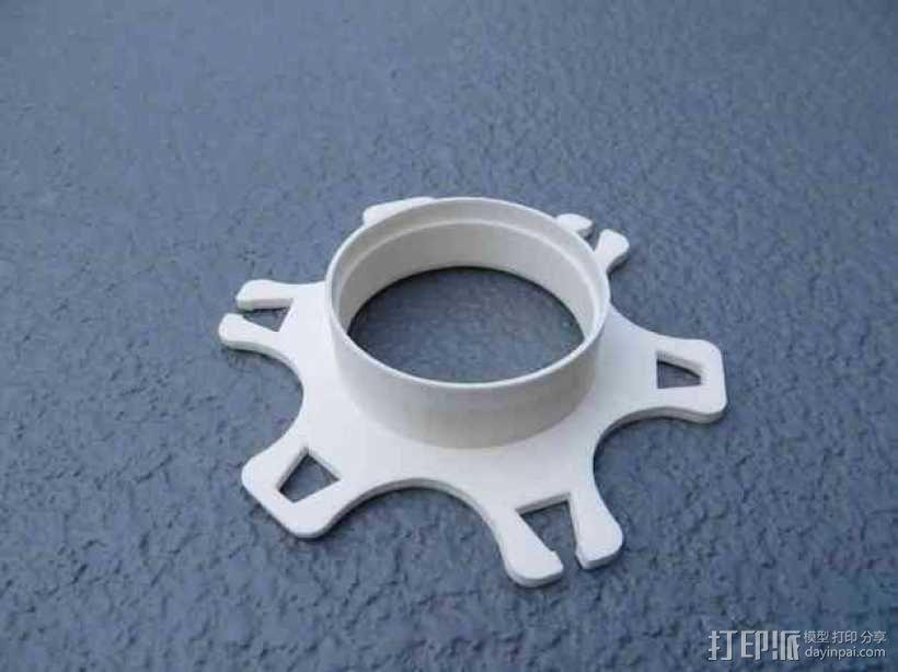 卷线器  耳机收纳器  3D模型  图3