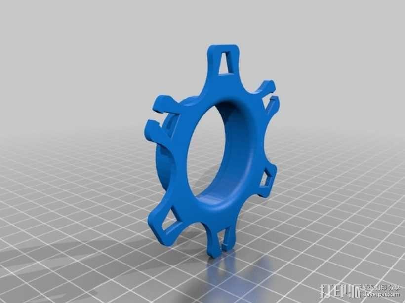 卷线器  耳机收纳器  3D模型  图6