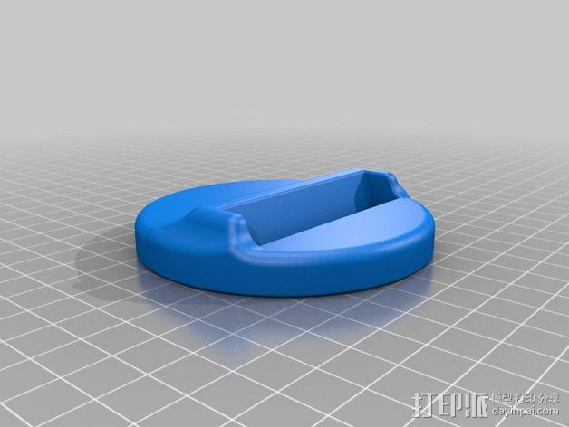 Iphone 5/5S 手机架 3D模型  图2