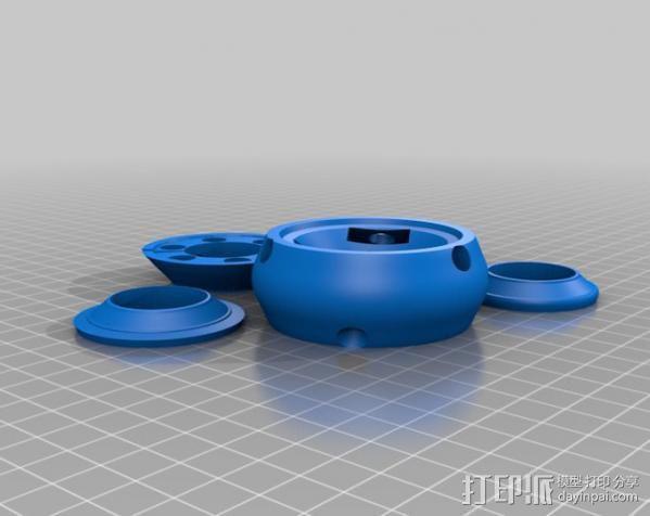 glidecam相机稳定器 3D模型  图2