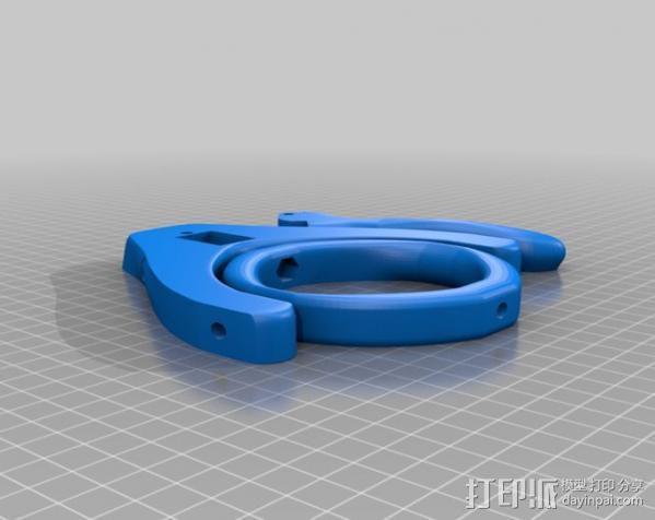 glidecam相机稳定器 3D模型  图12