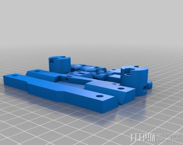 glidecam相机稳定器 3D模型  图13