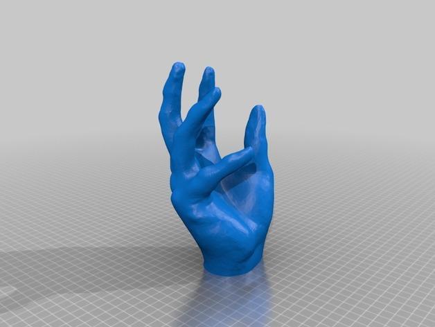 个性化iPhone支架 3D模型  图1