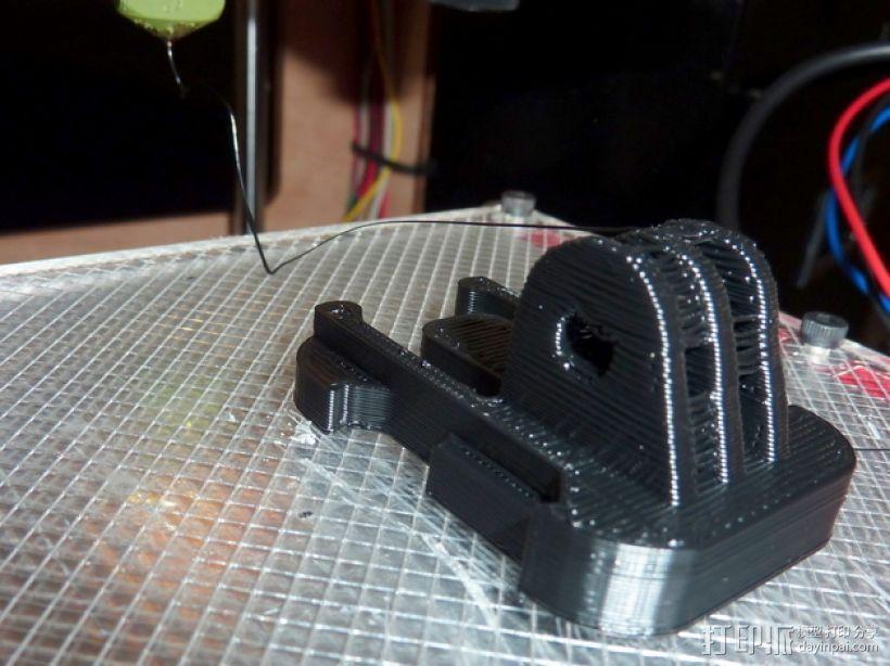GoProHD相机支撑架 3D模型  图2