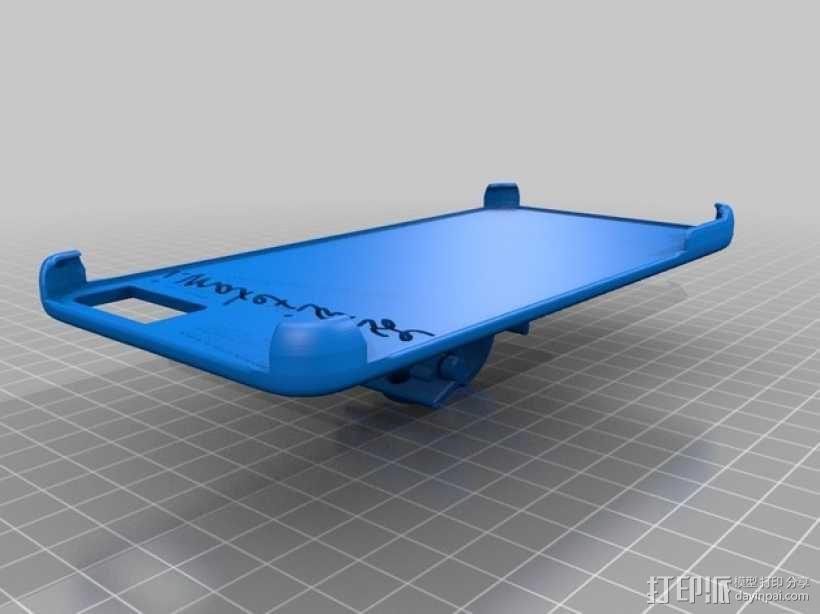 iPhone 6手机后盖保护壳 3D模型  图2