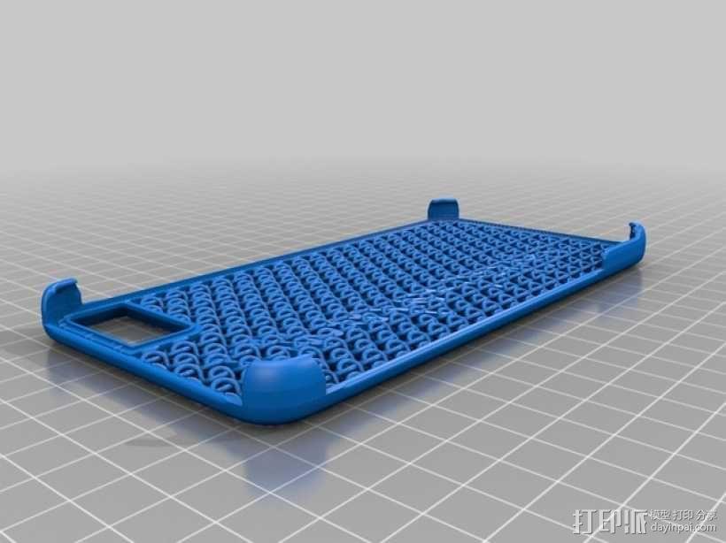 iPhone 6手机后盖保护壳 3D模型  图3