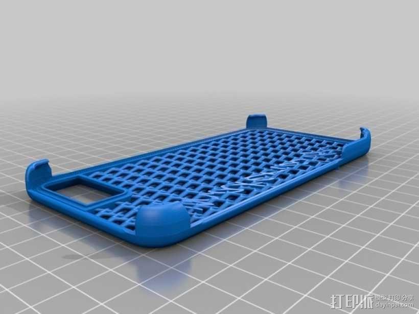 iPhone 6手机后盖保护壳 3D模型  图4