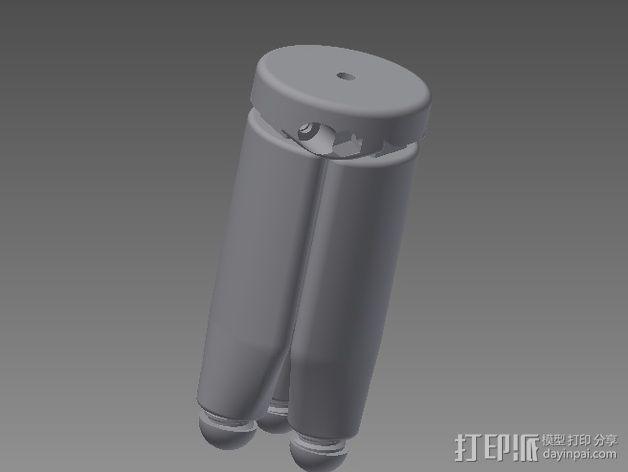 相机三脚架 3D模型  图4