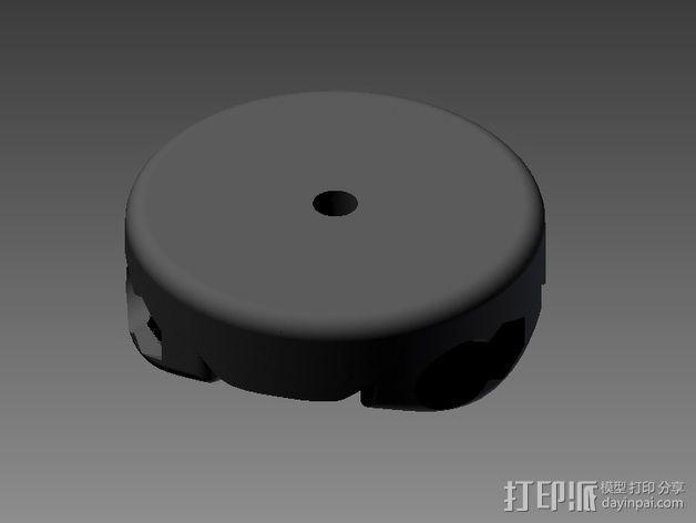 相机三脚架 3D模型  图5