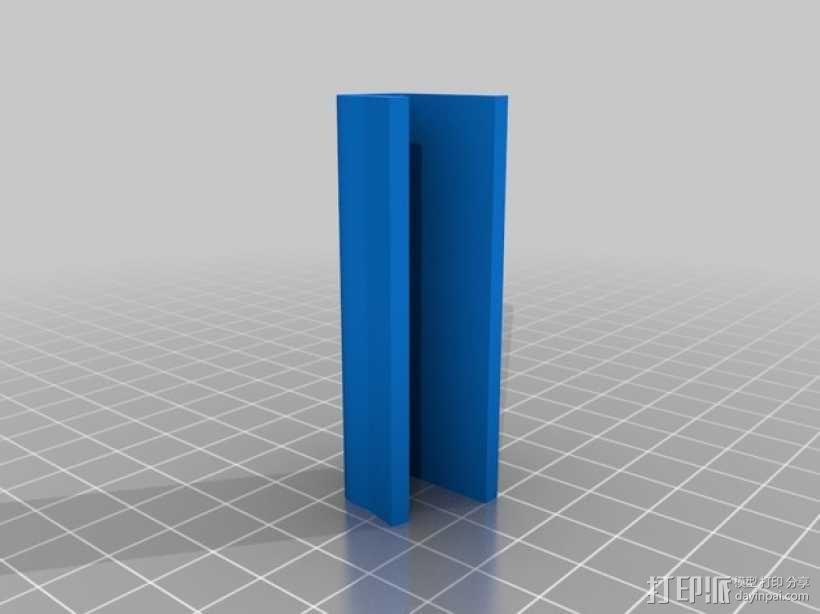 壁挂式平板电脑底座 3D模型  图4