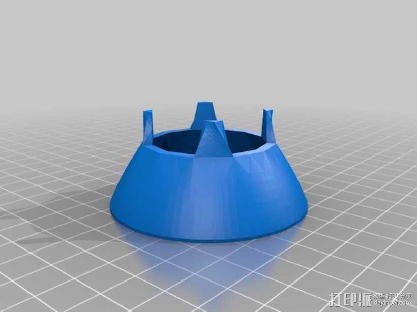 密封式扬声器 3D模型  图3