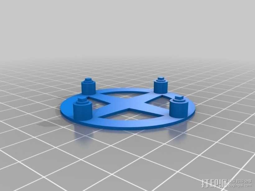 密封式扬声器 3D模型  图4
