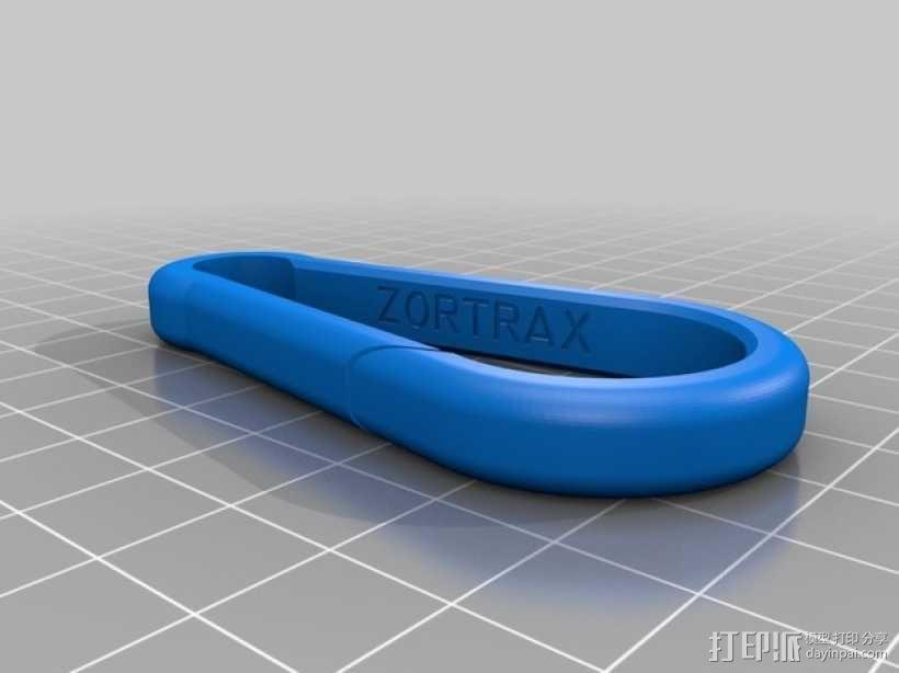 登山扣 3D模型  图5