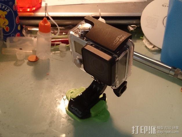 GoPro Hero相机支架安装部件 3D模型  图8