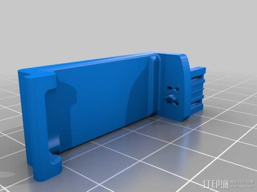Pebble智能手表充电器 3D模型  图2