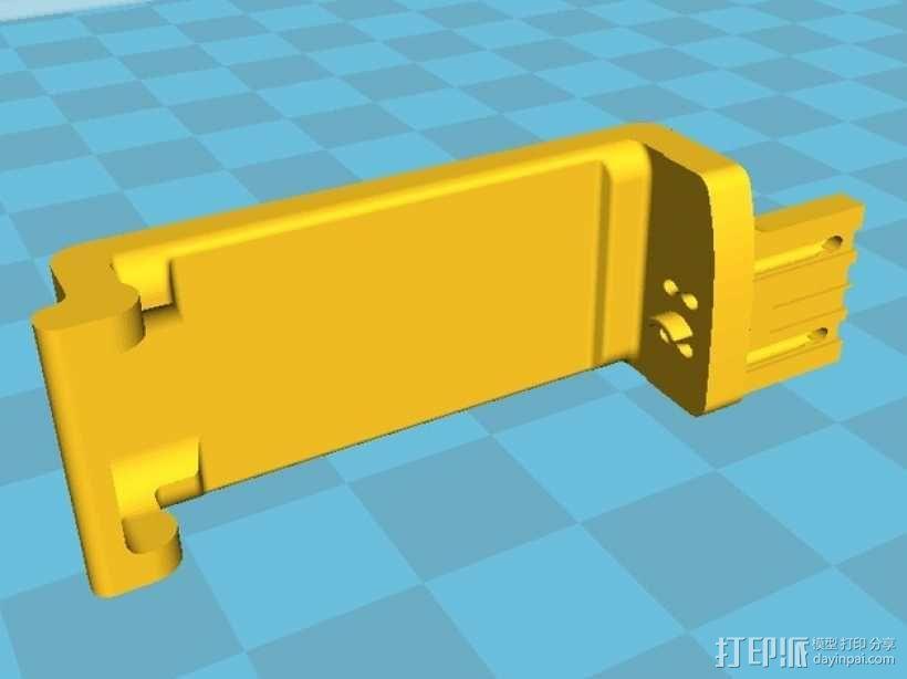 Pebble智能手表充电器 3D模型  图7