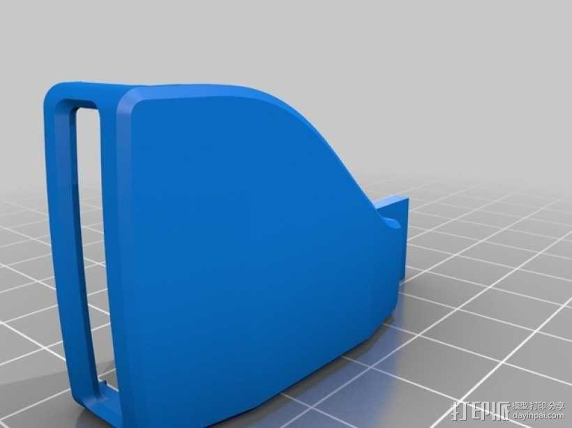 Pebble智能手表充电器 3D模型  图8