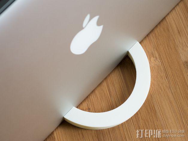 Macbook Pro电脑立式支架 3D模型  图2
