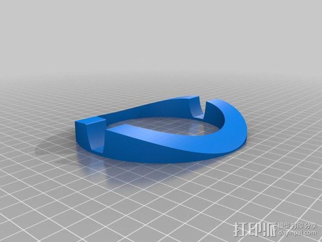 Macbook Pro电脑立式支架 3D模型  图4