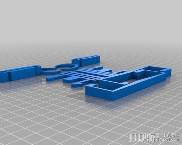 谷歌纸盒 虚拟现实护目镜 3D模型  图2